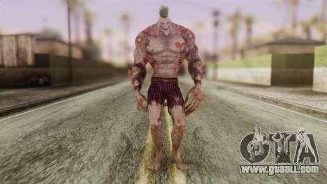 Titan Powered Joker from Batman Arkham Asylum for GTA San Andreas second screenshot