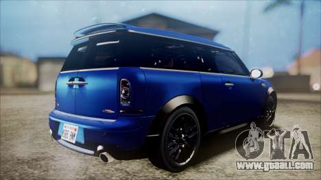 Mini Cooper Clubman 2011 Sket Dance for GTA San Andreas right view