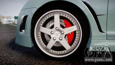 Bentley Continental GT Platinum Motorsports for GTA 4 back view