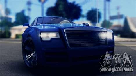 GTA 5 Enus Windsor IVF for GTA San Andreas right view