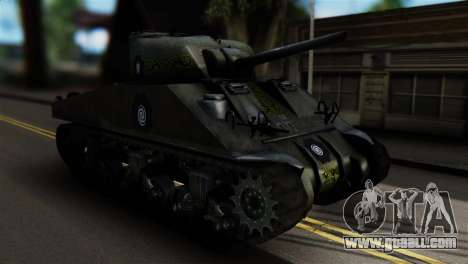 M4 Sherman Gawai Special for GTA San Andreas