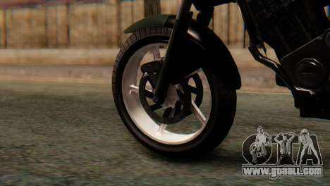 Bajaj Rouser 135 Stunt for GTA San Andreas back left view