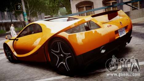 GTA Spano 2013 for GTA 4 back left view