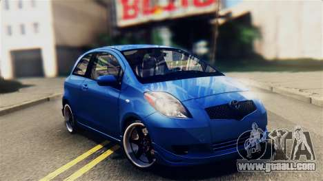 Toyota Yaris S 2008 for GTA San Andreas