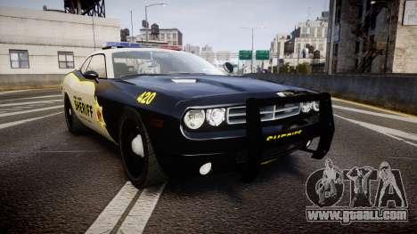 Dodge Challenger MCSO [ELS] for GTA 4