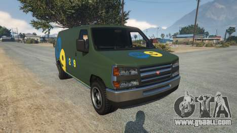 Bravado Rumpo KCAL v0.2 for GTA 5