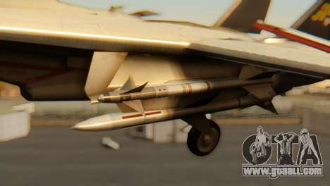 F-14A Tomcat VF-202 Superheats for GTA San Andreas right view