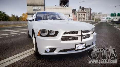 Dodge Charger Traffic Patrol Unit [ELS] bl for GTA 4