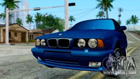 BMW M5 E34 Gradient for GTA San Andreas