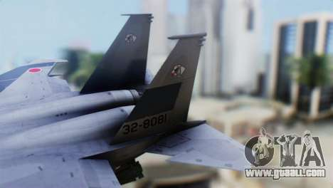 F-22J Japan Air-Self Defense Force for GTA San Andreas back left view