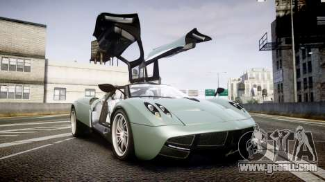 Pagani Hauyra for GTA 4 side view