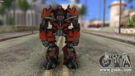 Autobot Titan Skin from Transformers for GTA San Andreas