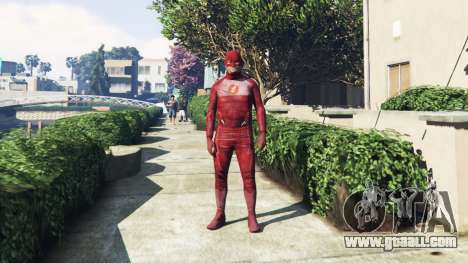GTA 5 The Flash Costume