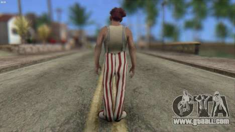 Clown Skin from Left 4 Dead 2 for GTA San Andreas second screenshot