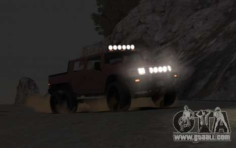 Mammoth Patriot 6x6 for GTA 4 right view
