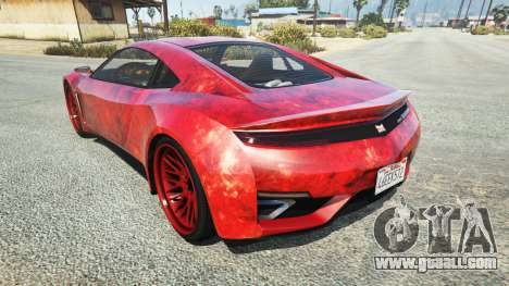 Dinka Jester (Racecar) Blood for GTA 5