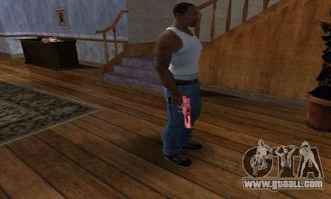 Black Lines Deagle for GTA San Andreas third screenshot