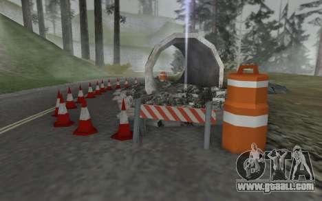 Road repair for GTA San Andreas second screenshot
