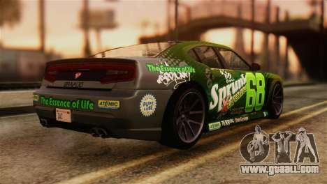 GTA 5 Bravado Buffalo Sprunk IVF for GTA San Andreas left view