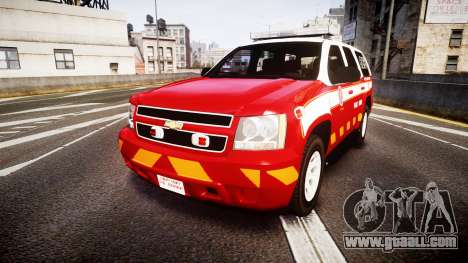 Chevrolet Tahoe 2013 Battalion Chief Unit [ELS] for GTA 4