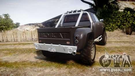 Vapid Bobcat Hillbilly for GTA 4 back left view