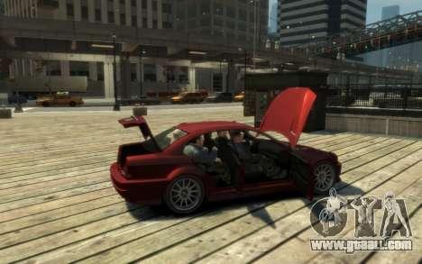 Supremacy Sentinel (XS) 4-door for GTA 4 inner view