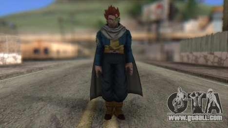 Dragon Ball Xenoverse Mysterious Warrior for GTA San Andreas