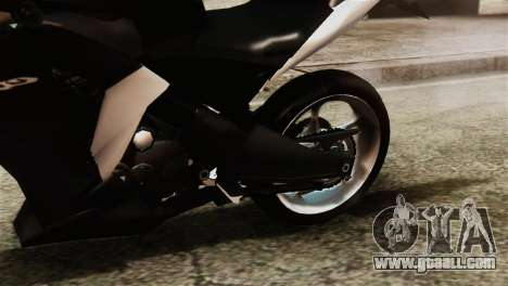 Honda CBR250R for GTA San Andreas back view