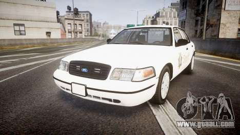 Ford Crown Victoria Sacramento Sheriff [ELS] for GTA 4