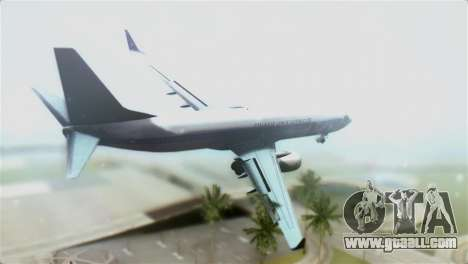 Boeing 737-800 Polskie Linie Lotnicze LOT for GTA San Andreas left view