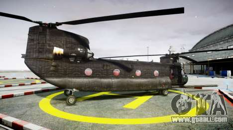 Boeing CH-47G Chinook [EPM] for GTA 4 left view