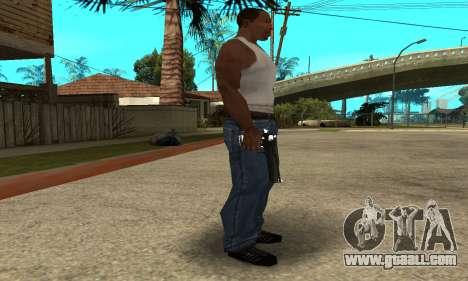 Cool Black Deagle for GTA San Andreas second screenshot