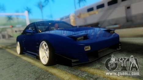 Nissan 180SX Uras Bodykit for GTA San Andreas