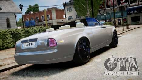 Rolls-Royce Phantom Coupe 2009 for GTA 4 left view