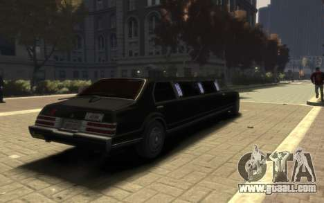 Albany Esperanto Limousine for GTA 4 left view