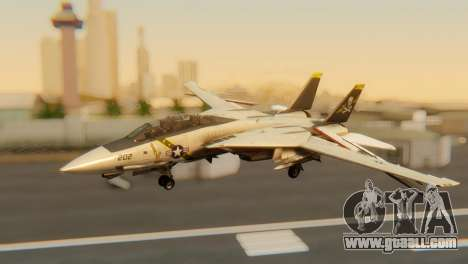 F-14A Tomcat VF-202 Superheats for GTA San Andreas inner view