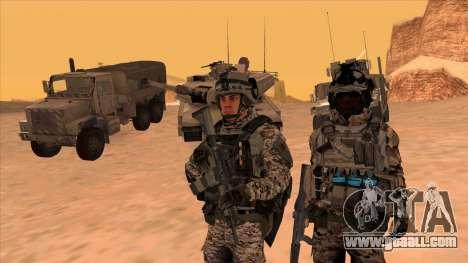 BF3 Montes for GTA San Andreas second screenshot
