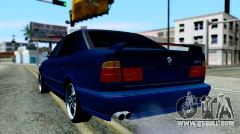 BMW M5 E34 Gradient for GTA San Andreas left view