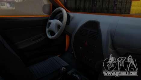 Tiba Taxi v1 for GTA San Andreas right view
