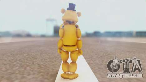 Golden Freddy v2 for GTA San Andreas third screenshot