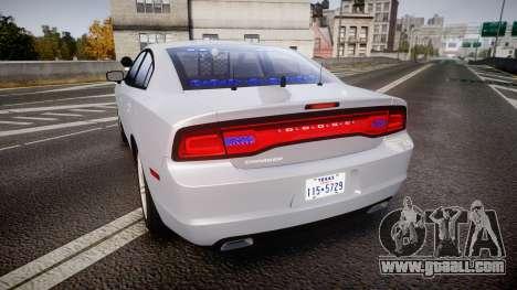 Dodge Charger Traffic Patrol Unit [ELS] bl for GTA 4 back left view