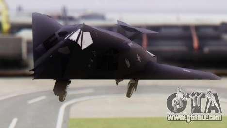 Lockheed F-117 Nighthawk ACAH for GTA San Andreas back view