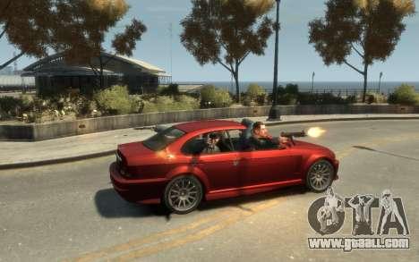 Supremacy Sentinel (XS) 4-door for GTA 4 side view