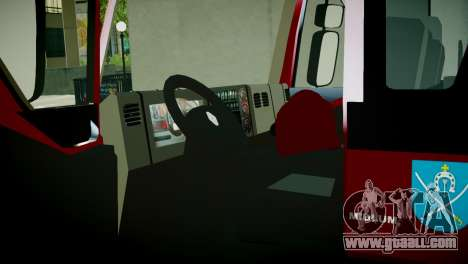 Renault Midlum 300.14 dXi Firetruck for GTA 4 back view