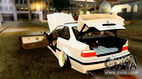 BMW M3 E36 Stance for GTA San Andreas inner view