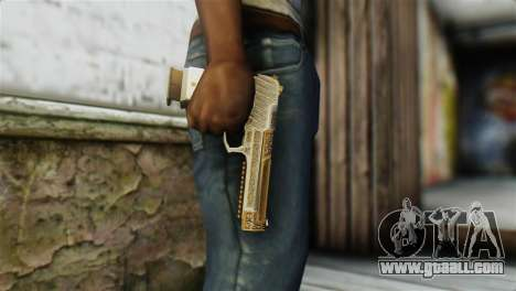 Desert Eagle Skin from GTA 5 for GTA San Andreas third screenshot
