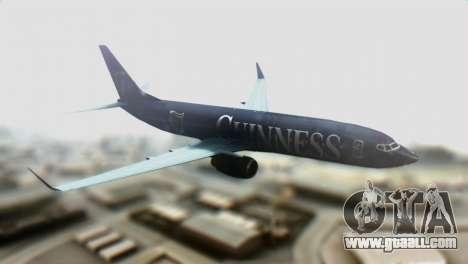 Boeing 737-800 Ryanair Guinness for GTA San Andreas