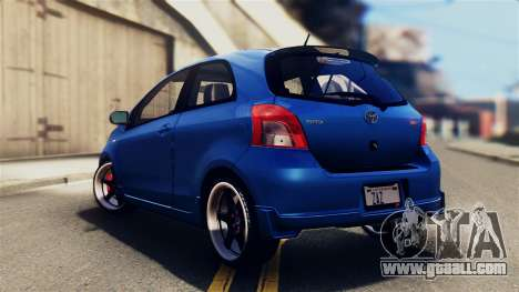 Toyota Yaris S 2008 for GTA San Andreas left view