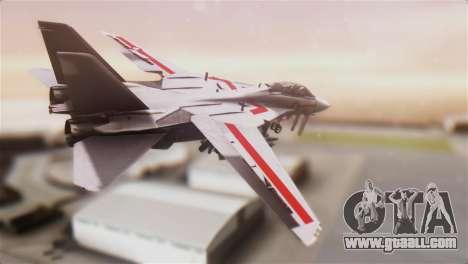 F-14D Tomcat Macross Red for GTA San Andreas left view