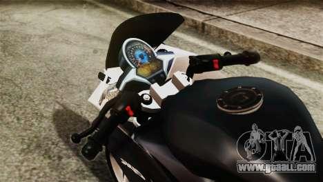 Honda CBR250R for GTA San Andreas right view